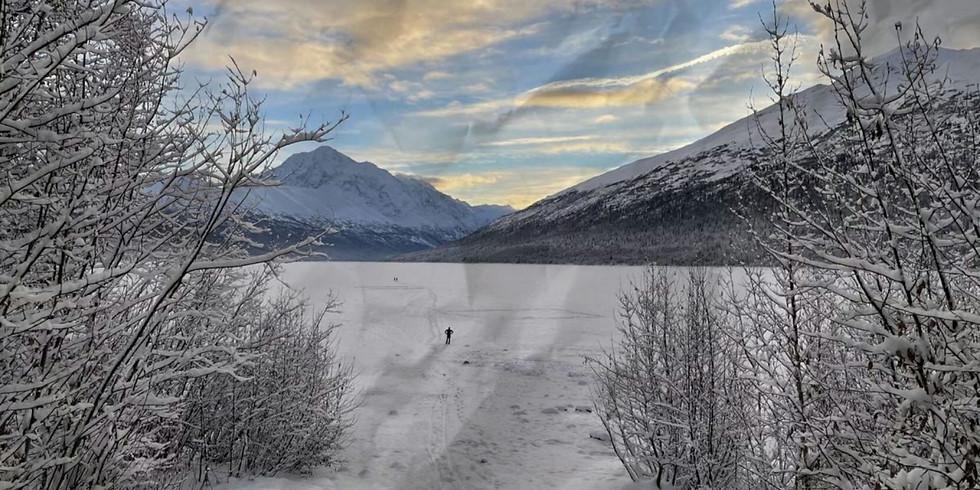 Snowshoe Hike at Eklutna