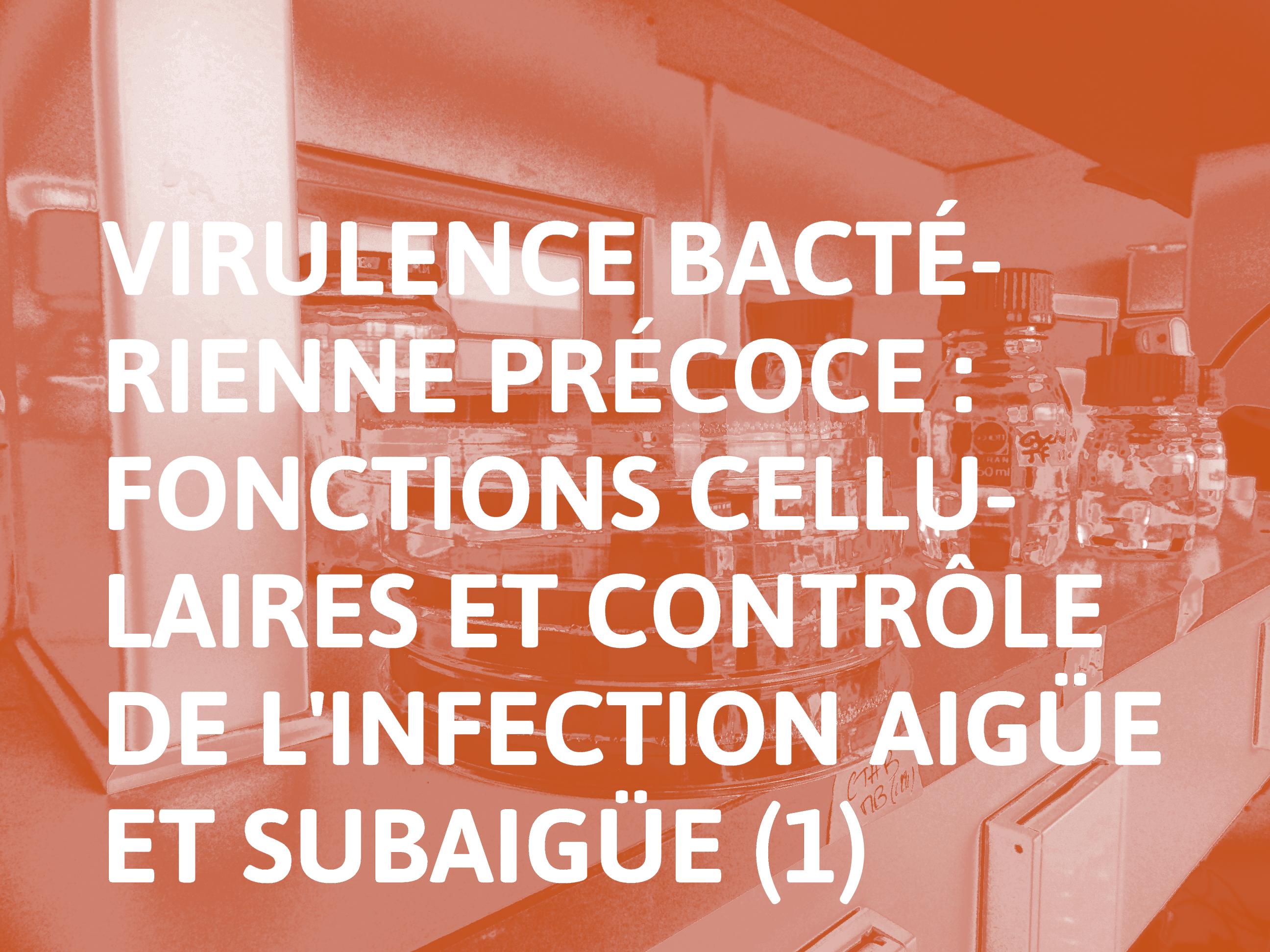 Virulence_bactérienne_précoce_-_fonctions_cellulaires_et_contrôle_de_l'infection_aigüe_et_subaigüe_(