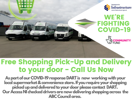 We're Fighting COVID-19 - FREE Shopping Delivery Service Launched
