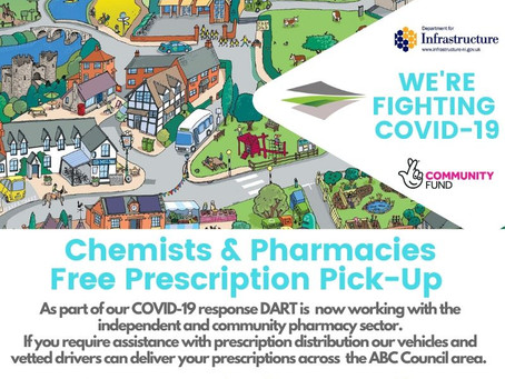 We're Fighting COVID-19 - Pharmacy/Prescription Outreach