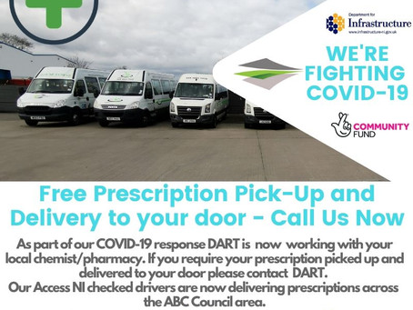 We're Fighting COVID-19 - FREE Prescription Collection & Delivery