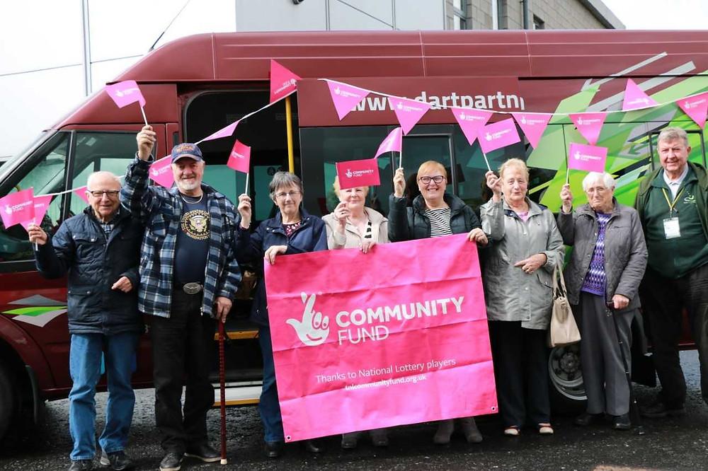 DART community transport Lottery Award £252K
