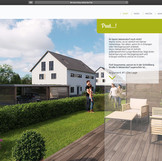 "Website für Immobilienprojekt ""Living Weisendorf"""