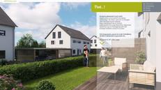 """Website für Immobilienprojekt """"Living Weisendorf"""""""