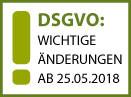 DSGVO: WICHTIGE ÄNDERUNGEN Datenschutz-Grundverordnung