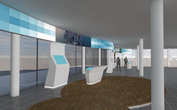 Foyer-Entwurf