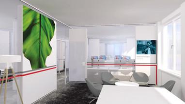 Office Planung und Gestaltung für HanseProject