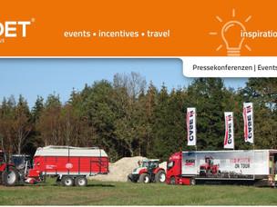 QET active Inspirations 009:  Pressekonferenzen | Events