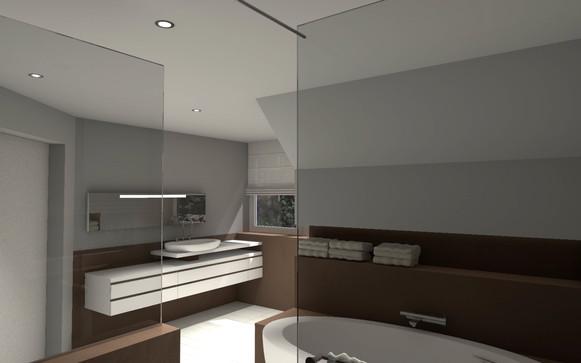 Badezimmer-Planung