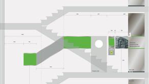 AVG Treppenhaussanierung und Gestaltung neuer Büroräume für die Indaver Gruppe
