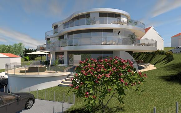 Villa Erlangen | 3D-Modeling & Visualisierung