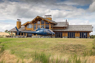 Fiordland lodge helicopter