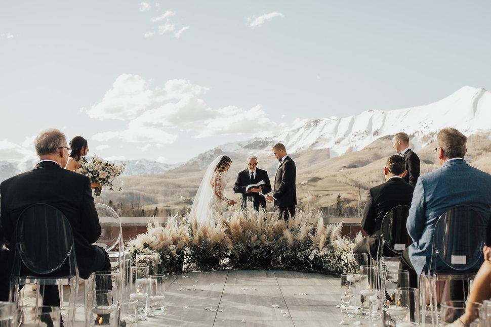 The Peaks Resort Wedding Photos Telluride