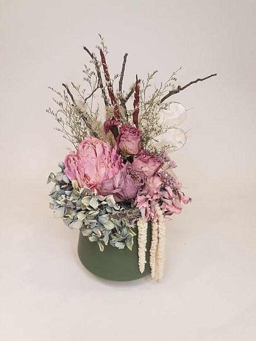 Dried Floral Pots
