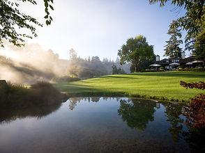 Lodge sunrise