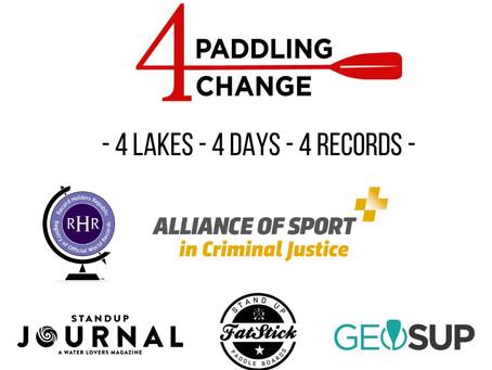 4 Lakes - 4 Days - 4 World Records