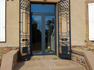 Grille décorative de porte