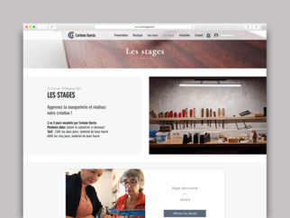 Site web Corinne Garcia