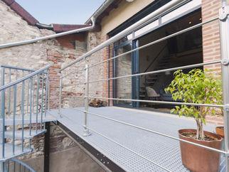 Terrasse métallique
