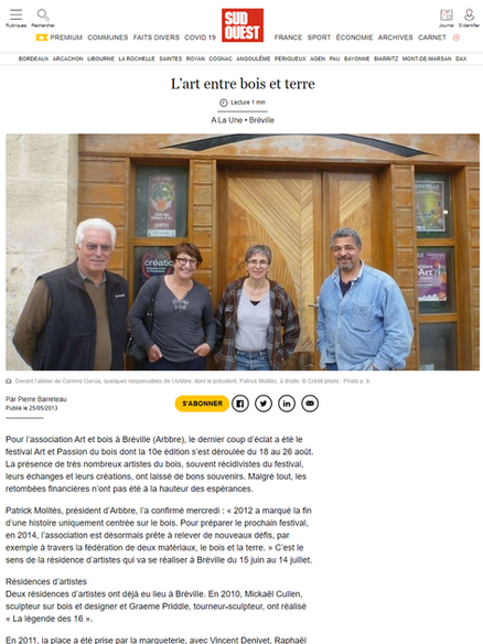 Sud Ouest 05/2013