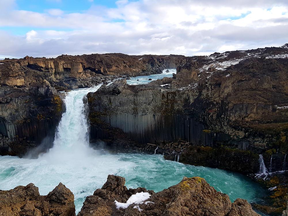 islande ALDEYARFOSS