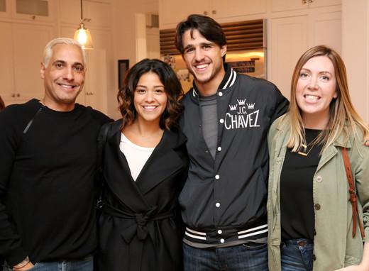 In middle: Gina Rodriguez Joe Locicero