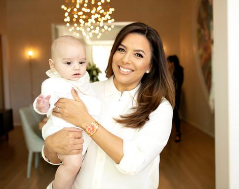 Pictured:  Baby Santi Eva Longoria