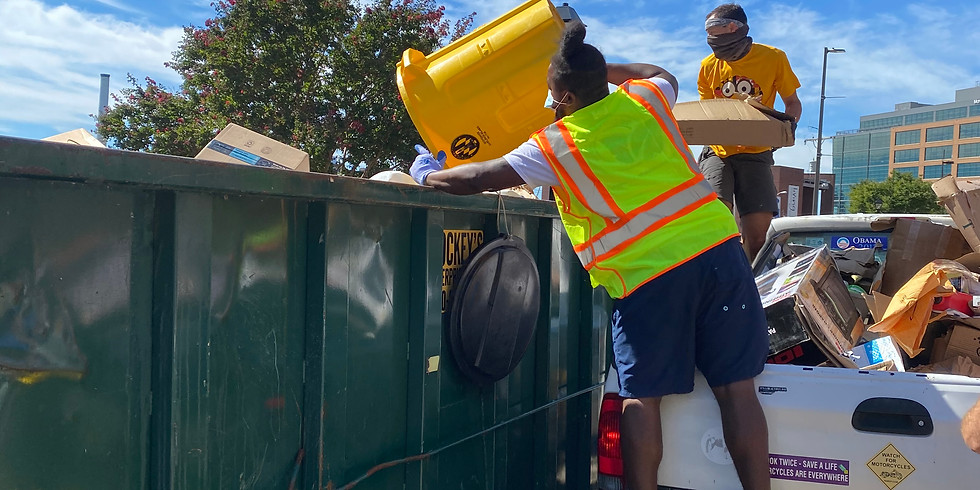 Second FPRA Community Recycling Drop Off- September 19