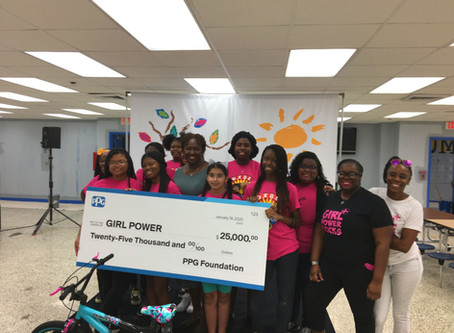 Girl Power Chosen for PPG Industries Colorful Communities Initiative
