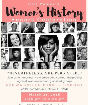 Girl Power's Womens History Honors Celebration