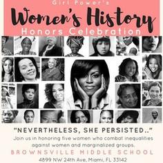 Girl Power's Womens History Honors Celebration