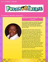 Power Source Newsletter October 2018