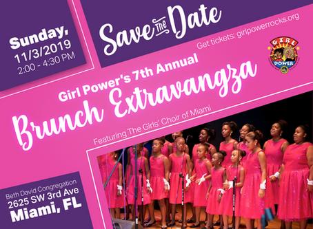 Girl Power Announces 7th Annual Brunch Extravaganza