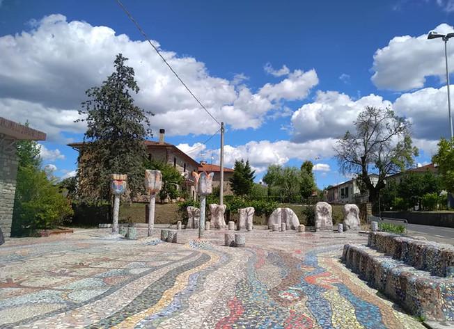 Mosaio Andreina - Sagrato primavera 2020