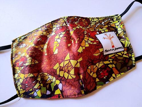 Mascherina Albero Rosso