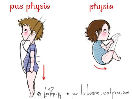 Comment le bébé se mets en position physiologique ?
