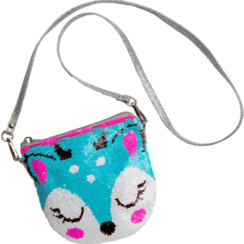 Fawn Sequin Color Changing Purse
