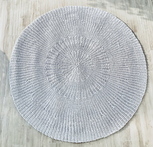 Full White Sea Grass Rug