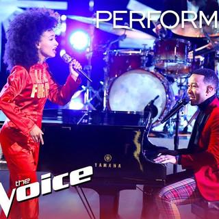 The Voice- John Legend & Esperanza