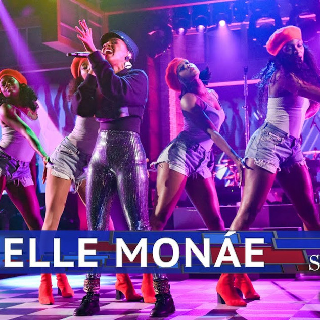 Late Show w/ Stephen Colbert – Janelle Monae