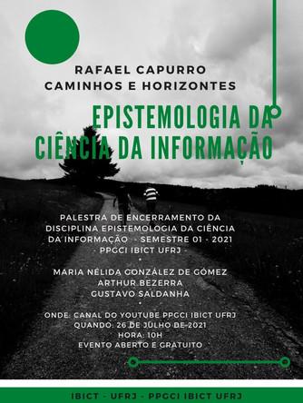 Rafael Capurro encerrando a disciplina Epistemologia da Ciência da Informação!