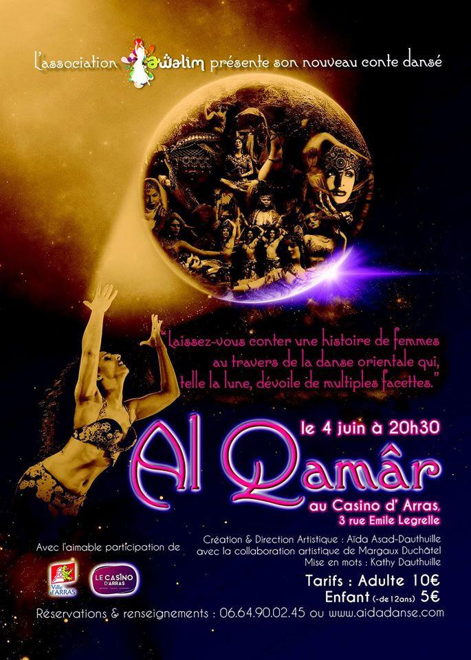"""Affiche du spectacle """"Al Qamar"""""""