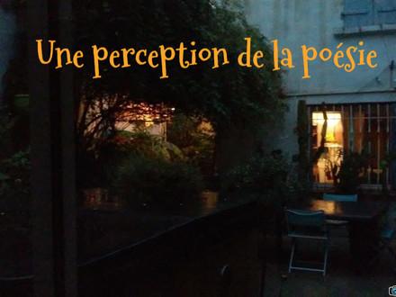 Une perception de la poésie