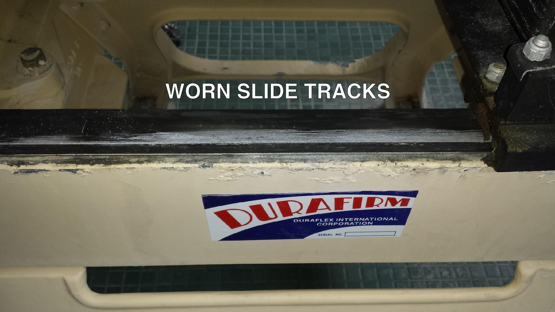 worn tracks