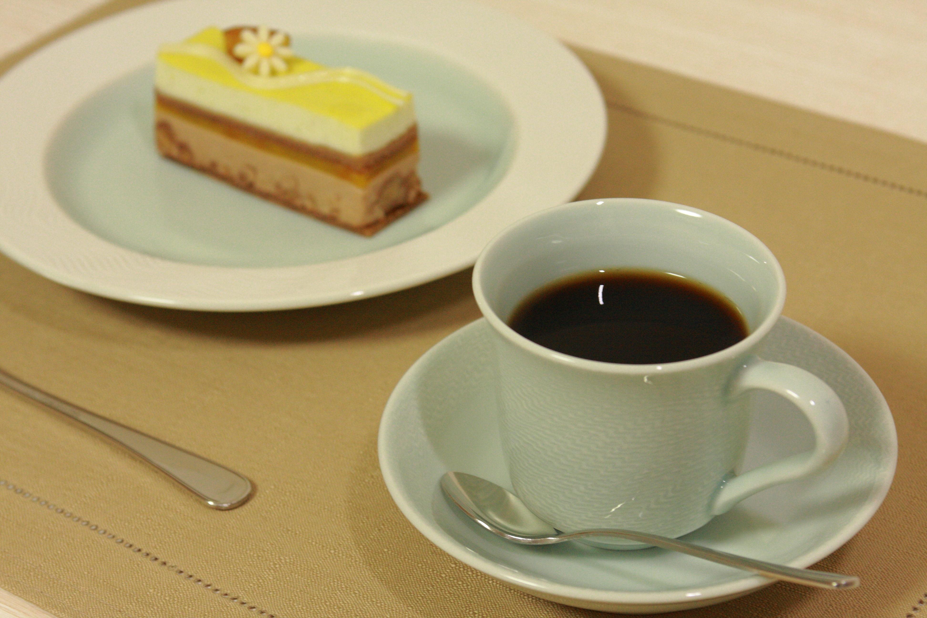 なみプレート&コーヒー碗
