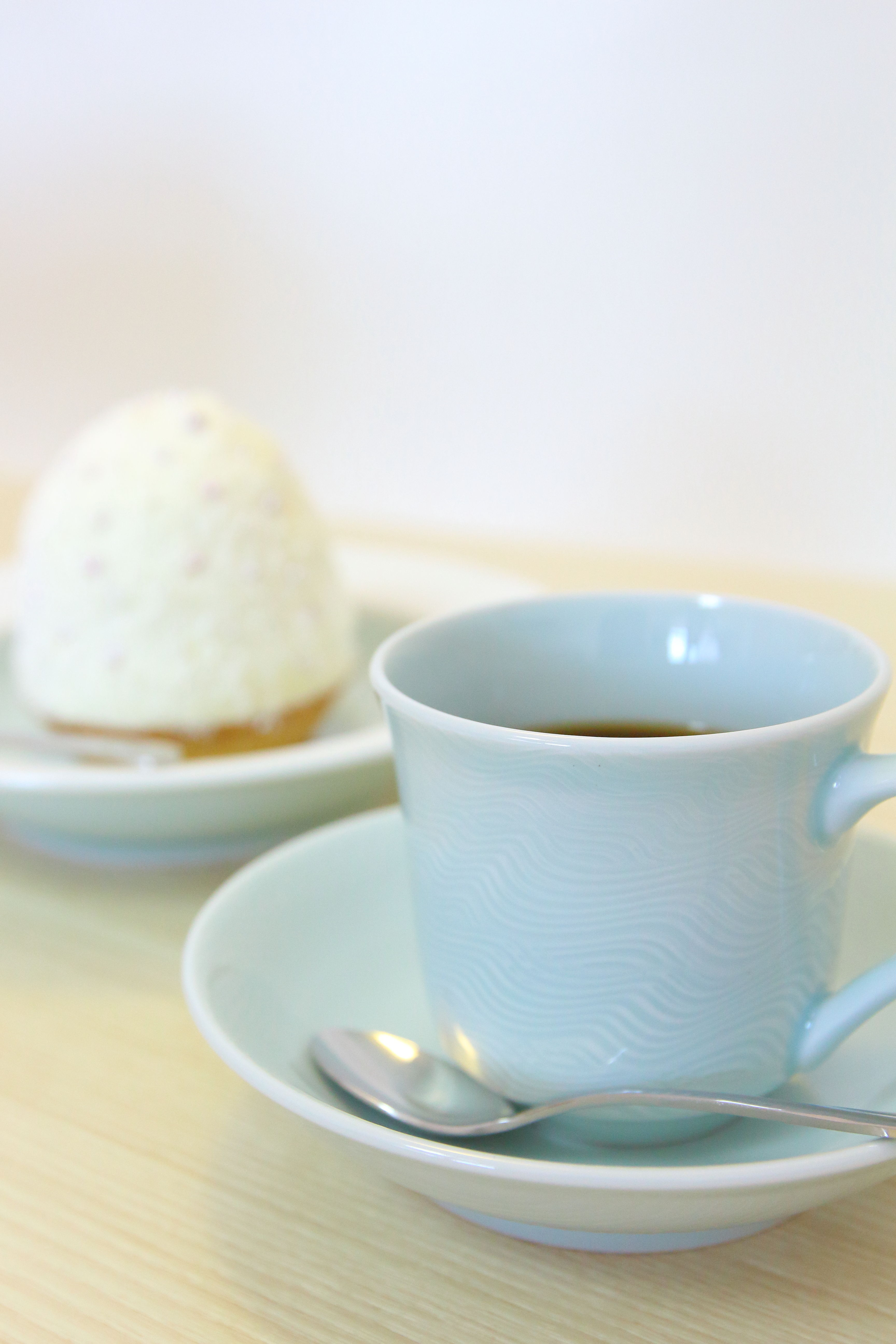 なみ深皿&コーヒー碗