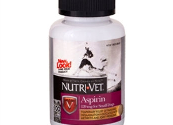 Nutri-Vet Aspirin for Small Dogs  (Liver Flavored Chewable)