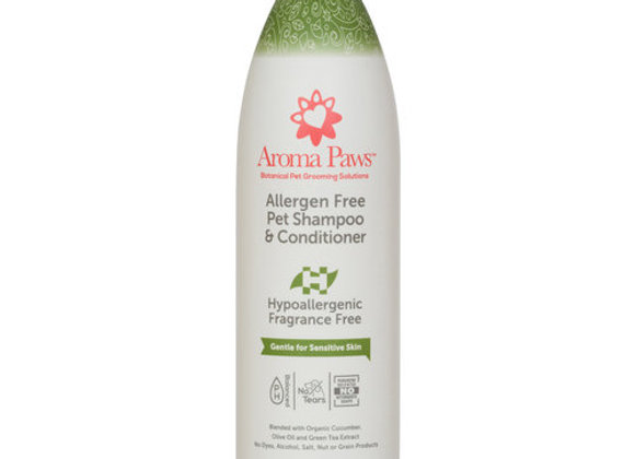 Hypoallergenic Dog Shampoo & Conditioner in One (13.5 oz)