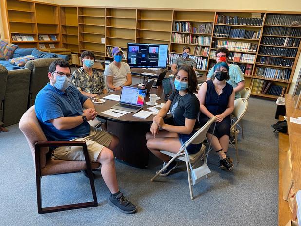Student Board at their Fall Leadership Retreat