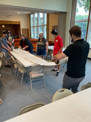 Rolling the Torah to Rosh Hashana readings